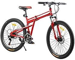 فتنس مينتس دراجة قابلة للطي، FM-F26-03S-RD