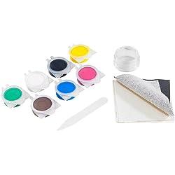 AGT Kunstleder Reparaturset: Reparatur-Set MRS-44.lks für Leder- und Stoff-Oberflächen (Kunstleder und Leder Reparatur Set)