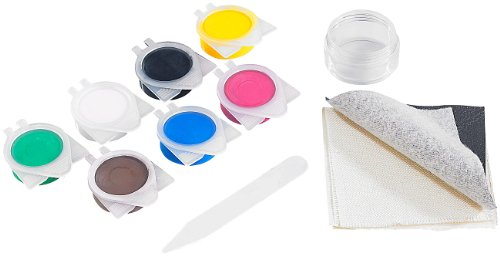 AGT Kunstleder Reparaturset: Reparatur-Set MRS-44.lks für Leder- und Stoff-Oberflächen (Kunstleder...
