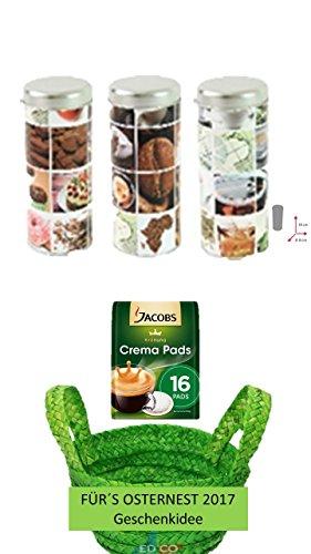 Jacobs Krönung Crema Klassisch, 16 Kaffee Pads, 1er Pack, Jacobs Krönung Crema Klassisch, 16...