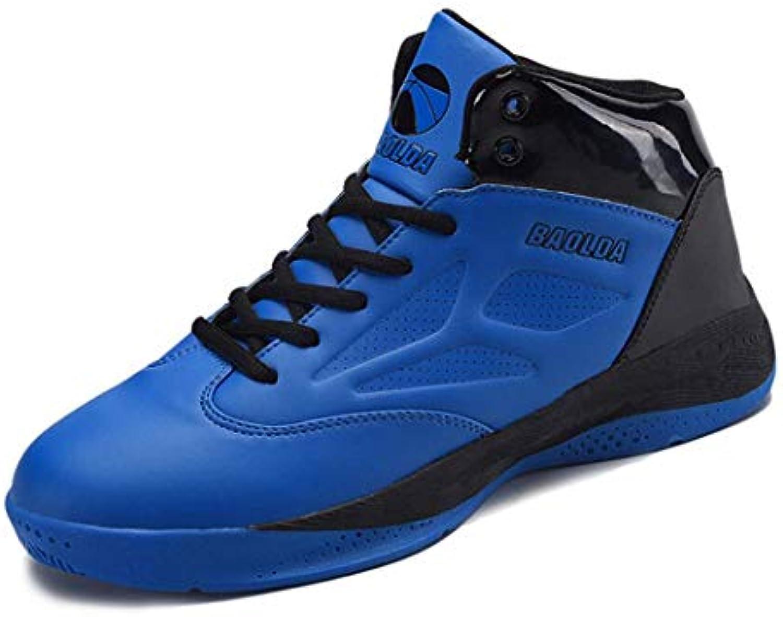 Zxcvb High Top scarpe scarpe scarpe da ginnastica Four Seasons Basket scarpe Mens Wear Antiscivolo Smorzamento Uomini Comode Scarpe da Corsa... | In vendita  66881c
