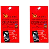 Max Pro Matte Screen Guard Pack of 2 For iPhone X Front & Back