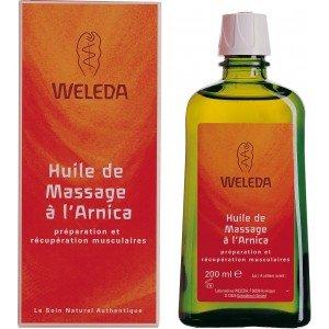 Weleda Huile Massage à l'Arnica 200 ml