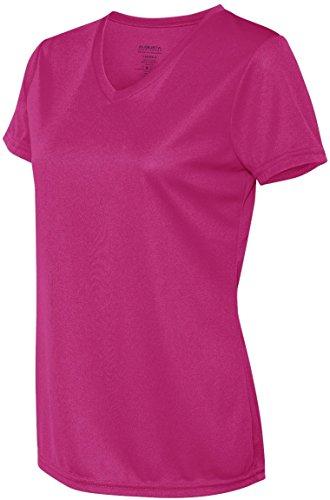 Augusta femmes de l'humidité col en V pour homme Rose - Power Pink