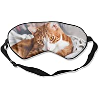 Eye Mask Eyeshade Brown Cat Sleeping Mask Blindfold Eyepatch Adjustable Head Strap preisvergleich bei billige-tabletten.eu