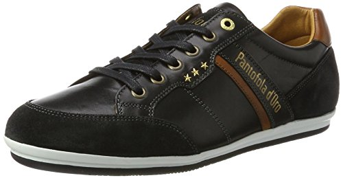 Pantofola dOro Roma Uomo Low, Scarpe Basse Uomo nero (nero)