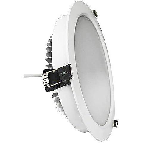ASNSWDC® 24W 2160lm 48x5630SMD calientes las luces de techo 3000K blanco LED , warm white