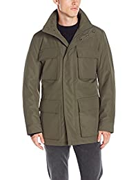 Marc New York by Andrew Marc Men's Winthrop City Rain 4 Pocket Anorak