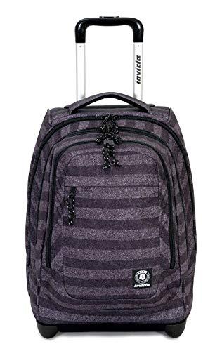 Invicta- Zaino trolley scuola viaggio-bump pro fantasy Stripes1922 FT6