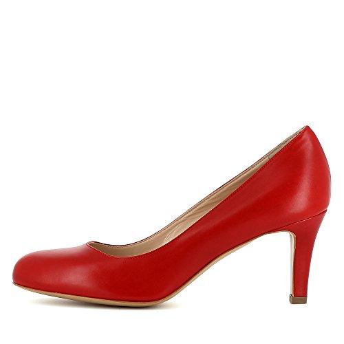 Chaussures Evita Blanches, Talons Pour Femmes