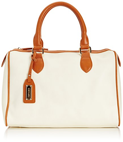 HENLEY Womens Brittany Bowling Bag Cream/Tan