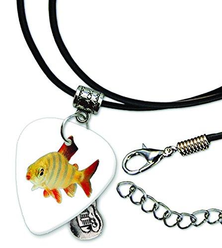 goldfish-fish-pick-de-guitarra-collar-de-cordn-de-cuero-gd