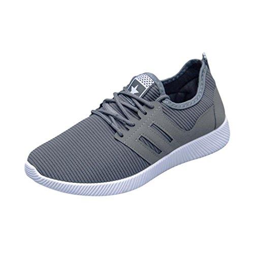 ღ UOMOGO Unisex Uomo Scarpe da Ginnastica Corsa Sportive Fitness Running  Sneakers Basse Interior Casual all f75021aecd5
