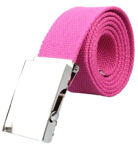 Stoffgürtel 4cm breit in pink | Gesamtlänge 100cm