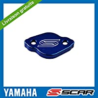 Tapa Bomba Freno Trasero Aluminio YAMAHA YZ YZF WR WRF XT TRICKER SCAR - Azul