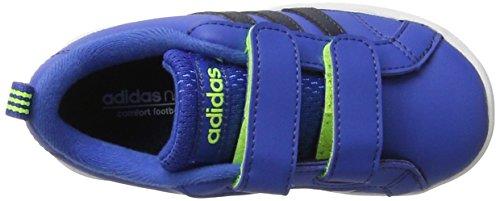 adidas  Vs Advantage Cmf Inf, chaussure de sport Unisexe - enfant Blu ( Azul/Maruni/Ftwbla)