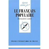 Le français populaire