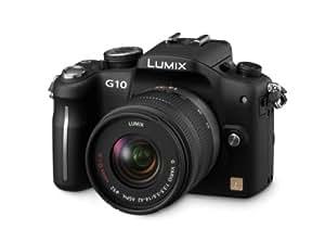 Panasonic Lumix G DMC-G10K Kit compact hybride 12,1 Mpix + Objectifs 14 42 mm Noir