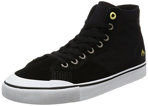 EMERICA INDICATOR HIGH BLACK WHITE Black White