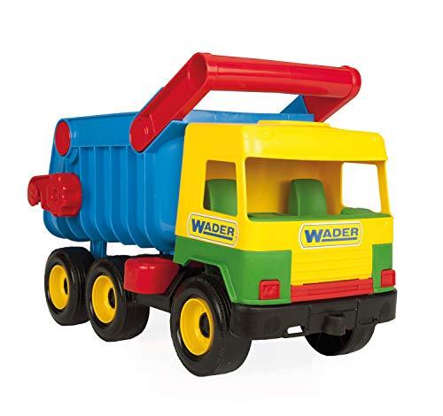 Wader - 2078180 - Middle Camion Benne Avec Poignée - Coloris aléatoire