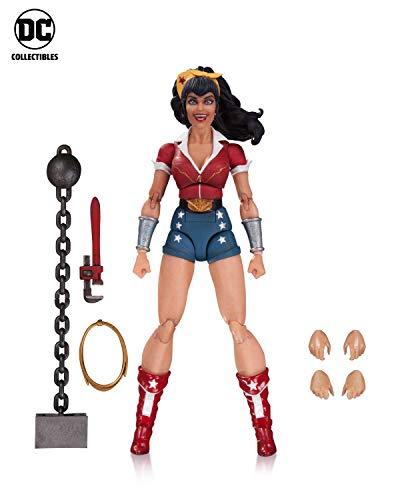 DC Designer Series: Ant Lucia Bombshells Wonder Woman Action Figure - Designer Series
