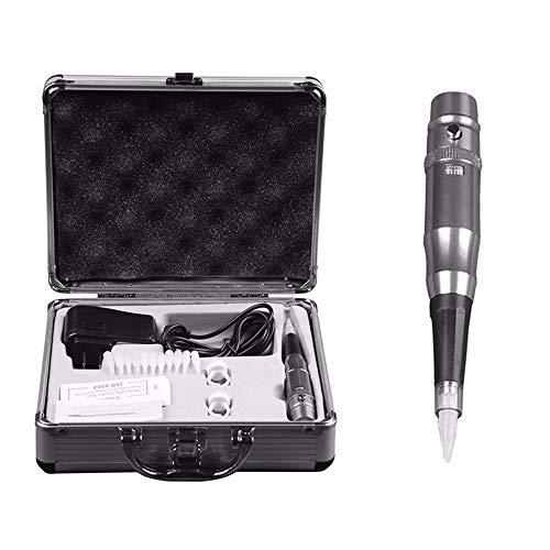 ZYC Elektrische Tattoo Maschine Set für Augenbrauen Lip Eyeliner Permanent Makeup Microblading Stift Tattoos mit Nadeln Aluminium Box -