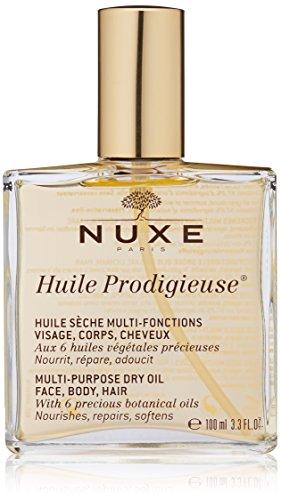 Nuxe - Aceite seco multifuncion (rostro, cuerpo, cabello), 100 ml