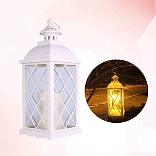 Uonlytech 1 Pc Candle Holder Lampe European Decorative Courtyard Lamp Candlestick Light für Patio Party Room Decor -
