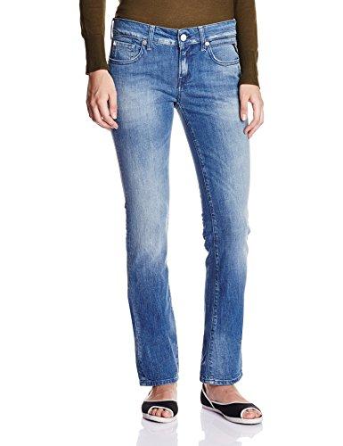 Replay Damen Straight Leg Jeanshose Vicki, Gr. W26/L32 (Herstellergröße: 26), Blau (Blue Denim 9)