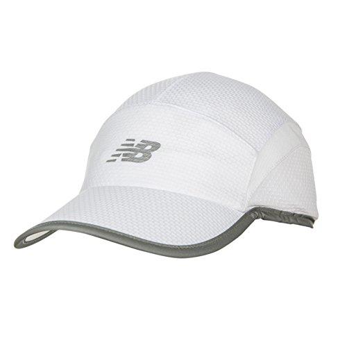 New Balance 5 Panel Performance Hat, Unisex-Erwachsene Herren, weiß, Einheitsgröße Low Profile 5-panel -