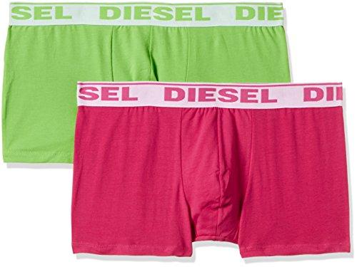 DIESEL Herren UMBX-SHAWN Boxershorts (2er Pack), Mehrfarbig (MULTICOLOR 4), L (Herstellergröße: L) (I Phone Bikini-fall)