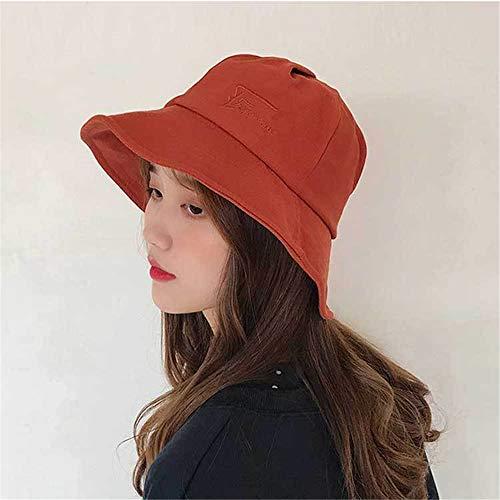 hat-maihef Frühling und Sommer koreanische Version der Fischer Hut Becken Hut weibliche Flut Hut Visier Mode einfachen und vielseitigen literarischen Hut - Rockies Kleidung Baum