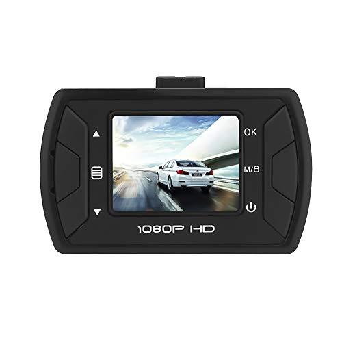 TIANZZ 1080P Full HD-Auto-Kamera 1,5-Zoll-LCD-Video-Dashboard DVR mit eingebautem G-Sensor, Loop-Aufnahme, Parkmonitor, Bewegungserkennung,Black