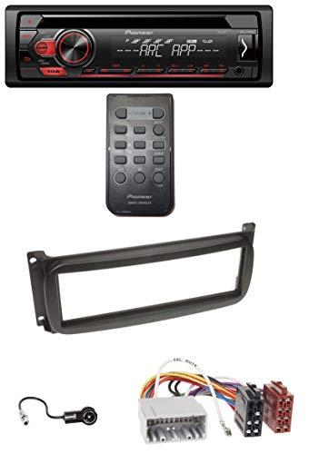 caraudio24 Pioneer DEH-S111UB USB 1DIN MP3 AUX CD Autoradio für Chrysler Voyager Neon PT Cruiser 300M Jeep Cherokee