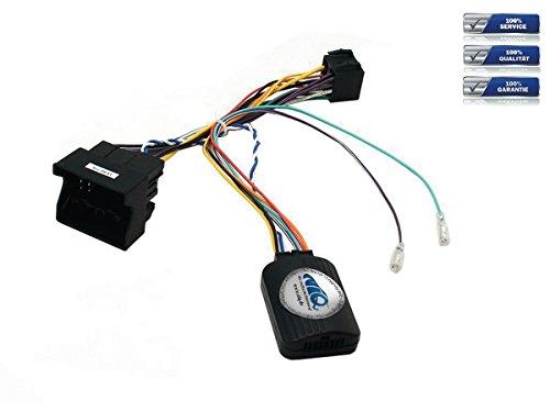 NIQ Lenkradfernbedienungsadapter geeignet für PIONEER Autoradios, kompatibel mit KIA Ceed / Optima / Picanto / Rio / Soul / Sportage / Sorento
