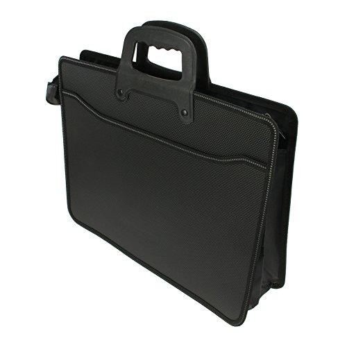 Hand Datei Aktentasche Tasche Reißverschluss A4Datei Halter Umschlag Travel Bag Business Office Portfolio Dokument Halterung Lagerung Organizer Tragetasche Handtasche Case Tote