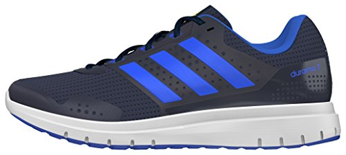adidas Men's Duramo 7 M Conavy, Blue and Ftwwht Running Shoes - 9 UK/India (43.3 EU)  available at amazon for Rs.3989