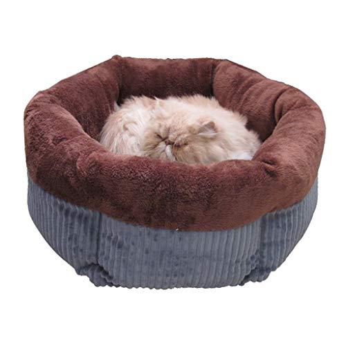 Yunso Haustierbett Für Katzen Und Kleine Hunde, Runde Betten -