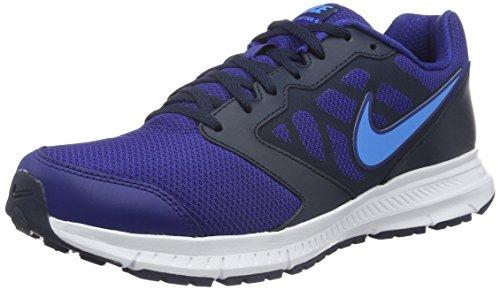 Nike - Downshifter 6, Scarpe da corsa Uomo, Azul (deep royal blue/blue glow-obsidian-white), 43
