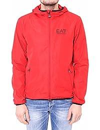 Emporio Armani EA7 chaqueta cazadoras de hombre chapucha nuevo rojo