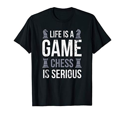 Is Serious Checkmate Checkers Strategy T-Shirt ()