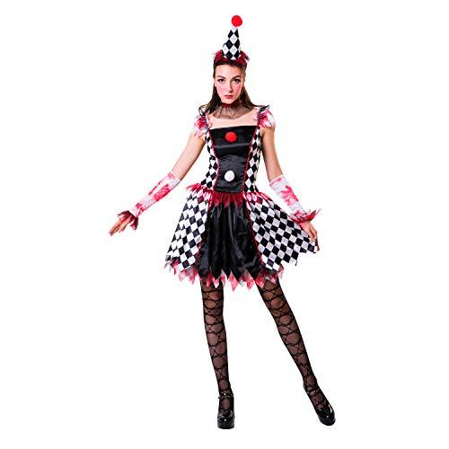 My Other Me Me Me- Arlequina Circus Disfraz, Multicolor (206141)