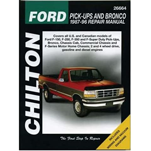 [(Ford Pick-ups and Bronco (1987-96))] [Author: Chilton Automotive Books] published on (May, 1997)