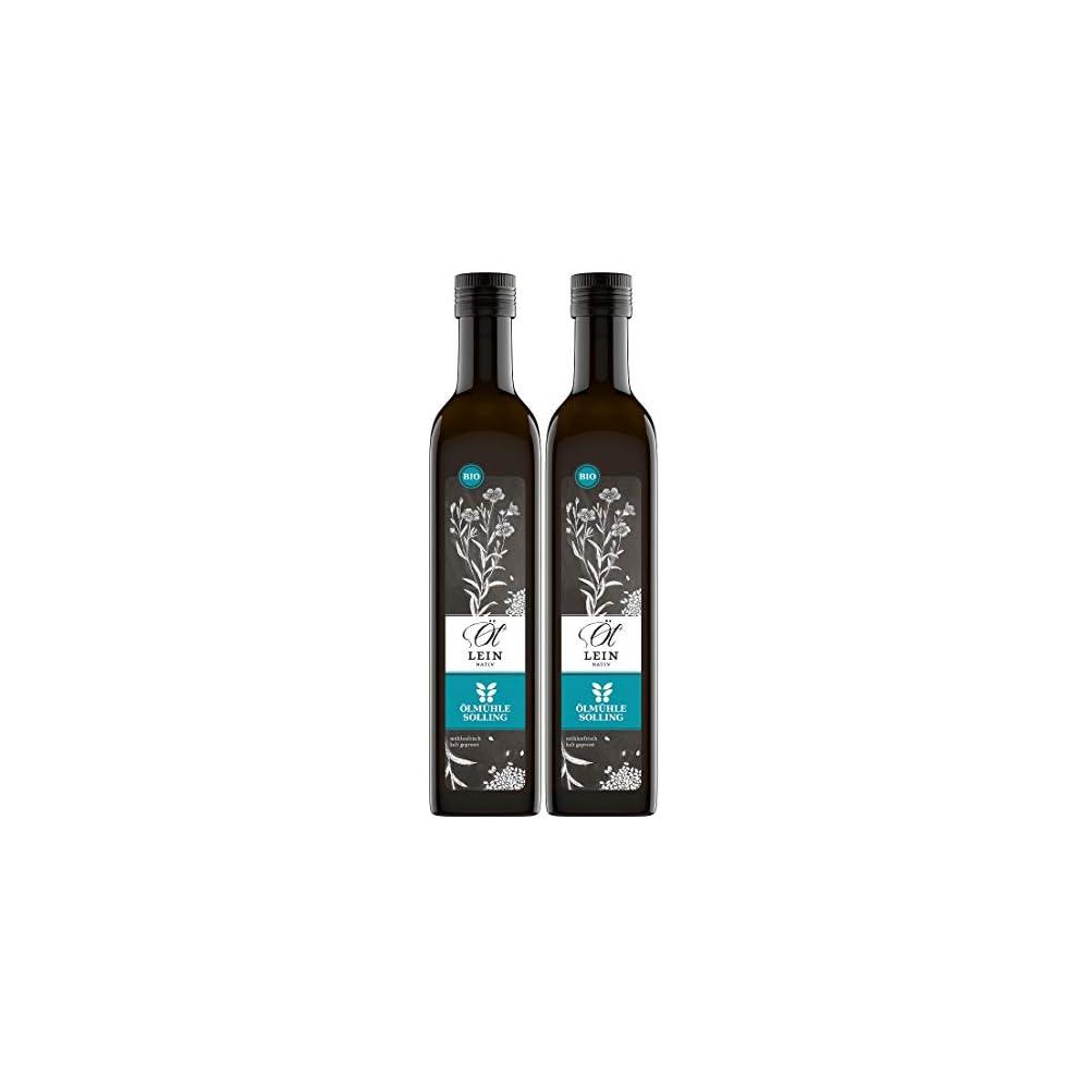 Lmhle Solling Leinl Bio Nativ Kaltgepresst 1000ml 2x500ml Spar Paket