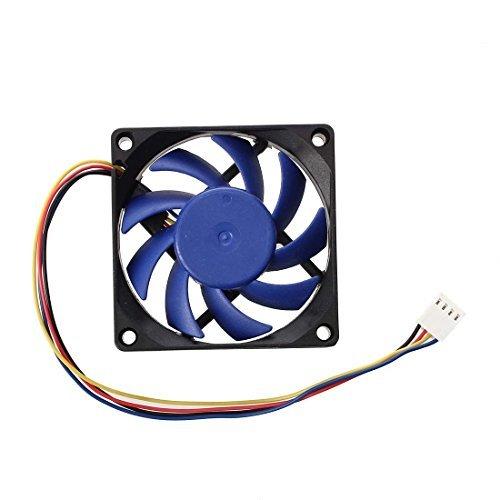 Ventilador - SODIAL(R) DC 12V 70mm 4 Pin 32 Caja de la...