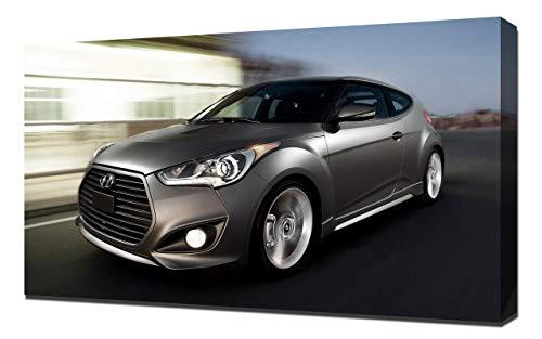 2013-Hyundai-Veloster-Turbo-V1-1080 - Canvas Art Print - Wall Art - Canvas  Wrap