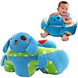 Baby Bucket Cotton Toddlers Training Seat Baby Safety Sofa Dining Chair/Learn To Sit Stool, 3-12 Months (Blue Dog)