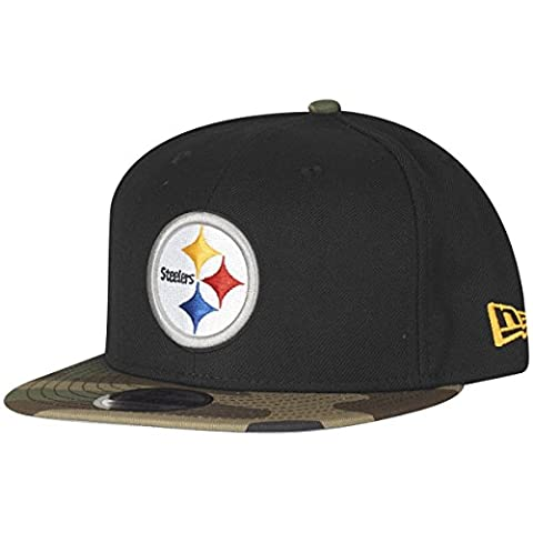 New Era 9Fifty Snapback Cap - Pittsburgh Steelers camo