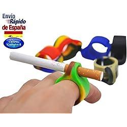 Sostenedor de cigarro electrico o cigarrillos *PACK 2* para que no tengas que dejar el cigarrillo en el cenicero y no pares de jugar a tu videojuego favorito. Accesorios tabaco fumadores