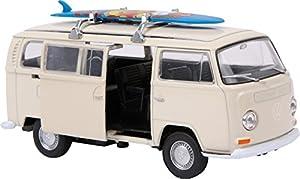 small foot 9324 Modellauto VW Bus T2 + Surfbrett, mit Rückzugautomatik,...